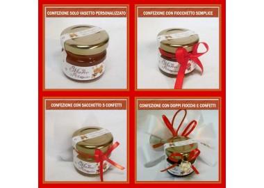 Bomboniera o segnaposto per LAUREA - vasetto miele gr 30