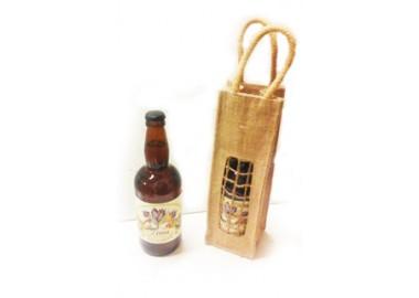 Birra  con confezione al miele oppure con zafferano