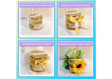 Bomboniera o Segnaposto per Prima Comunione Bambino - vasetto miele gr 30