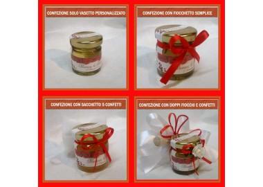 Bomboniera o segnaposto per LAUREA - vasetto miele gr 50