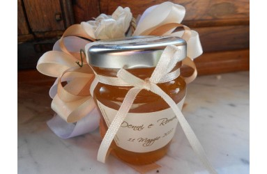 Bomboniera o Segnaposto per Prima Comunione Bambina - vasetto miele anforina gr 80